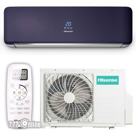 Hisense PURPLE Art Design DC Inverter не дорого в ижевске